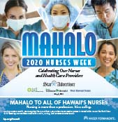 Mahalo to Hawaii's Nurses 2020