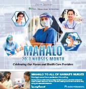 Mahalo to Hawaii's Nurses 2021